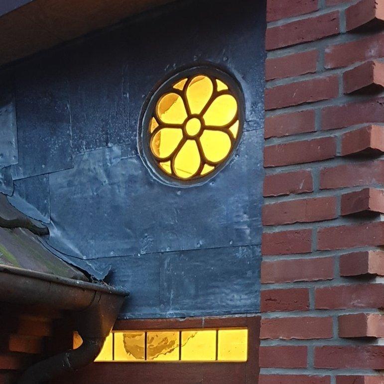 Großes Rundes Gussfenster Kreis 70 cm - Haus & Gartenshop